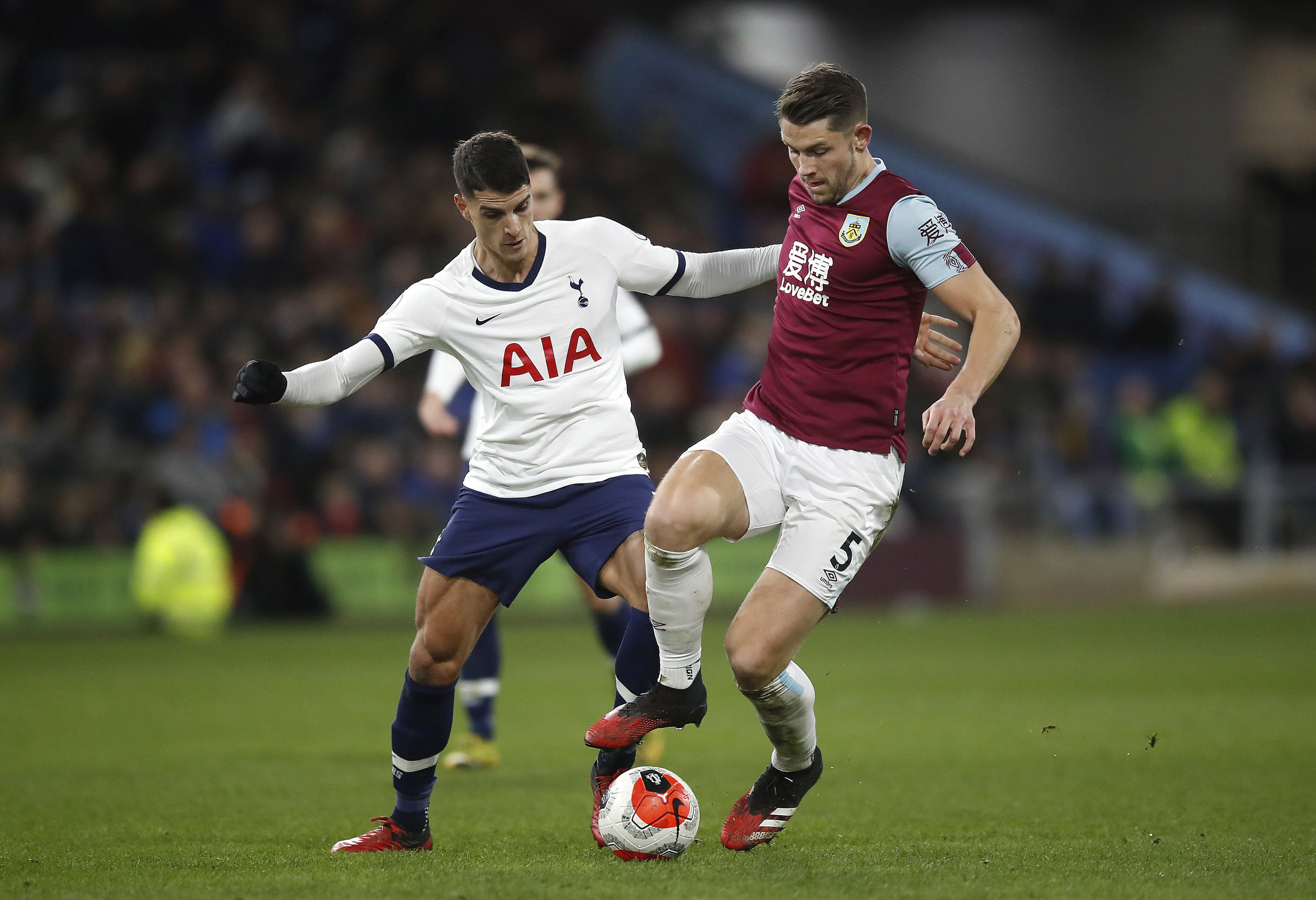 Mourinho calls out Ndombele after Spurs draw 1-1 at Burnley