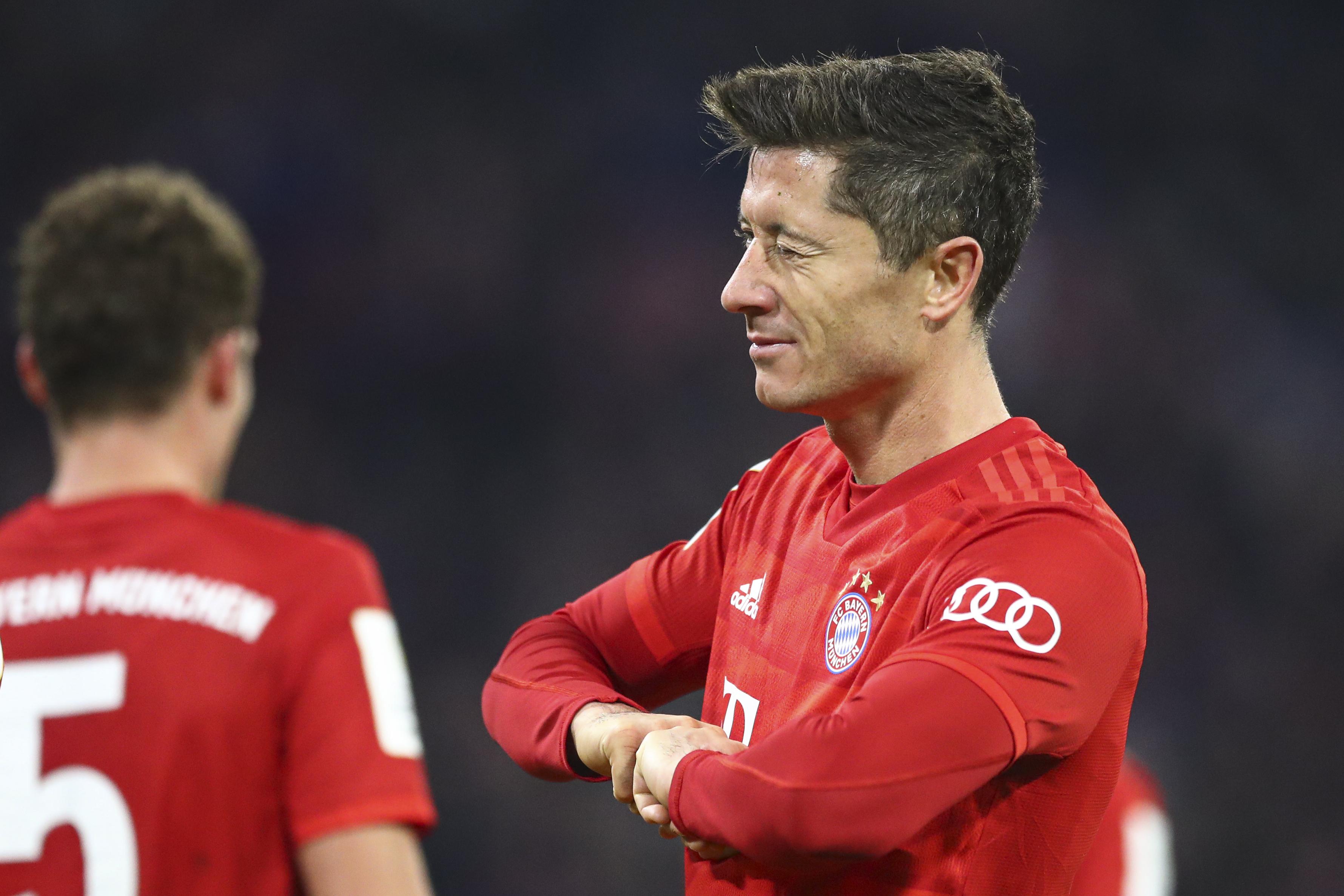 Lewandowski scores 2 as Bayern beats Hoffenheim 4-3 in cup