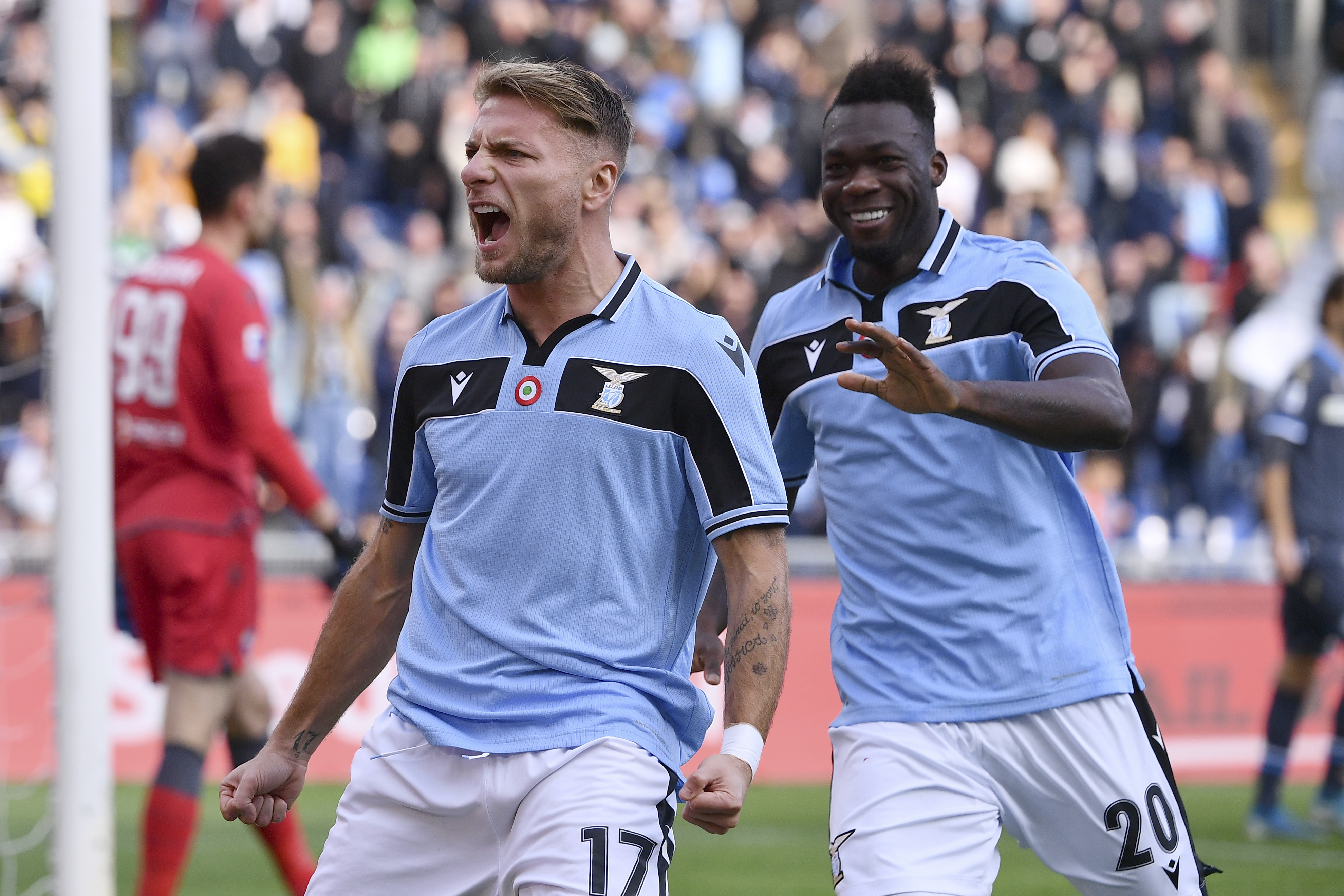 Lazio forward Immobile scoring at rate not seen in 61 years