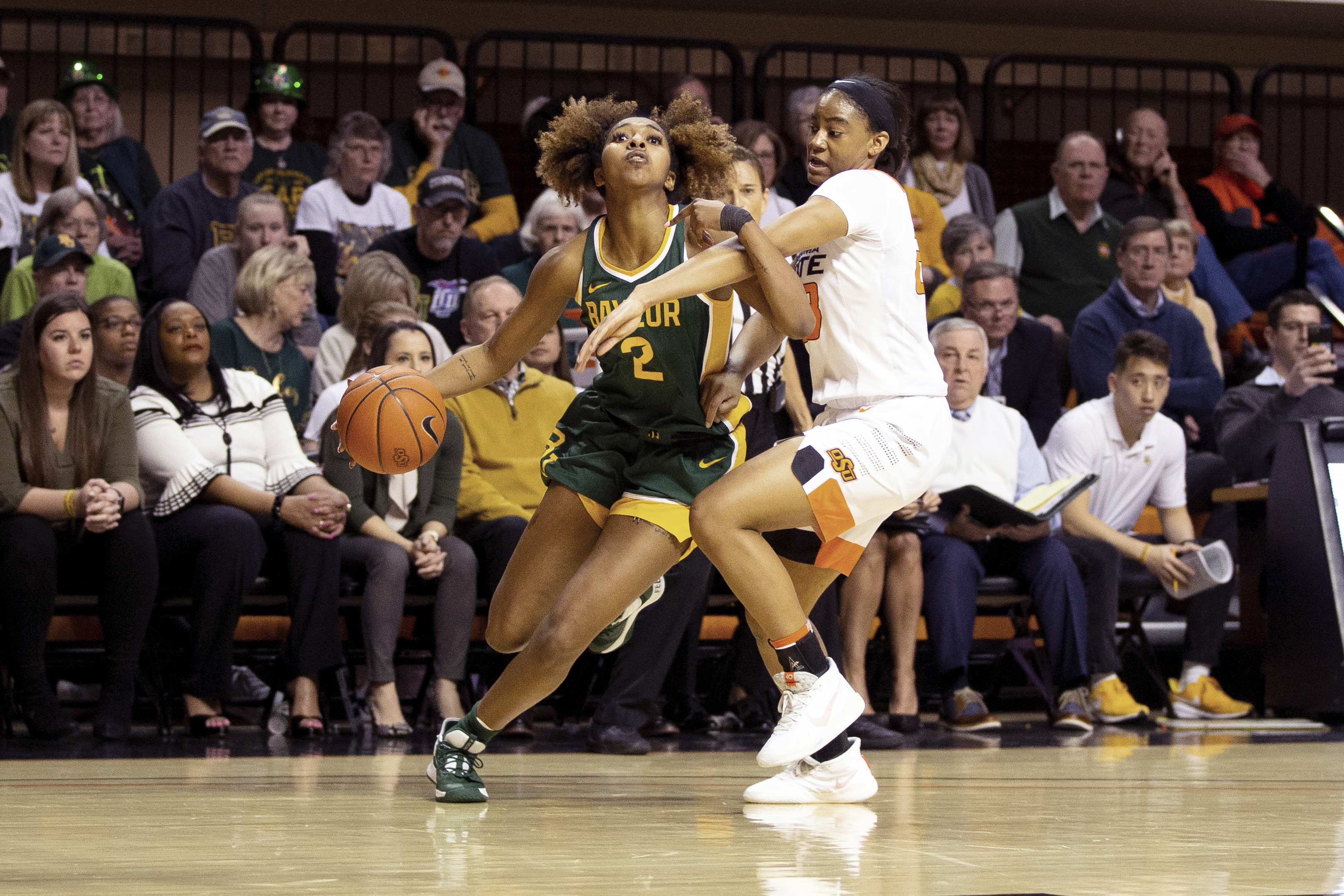 Cooper helps lead No. 2 Baylor to huge win over Okla. St.