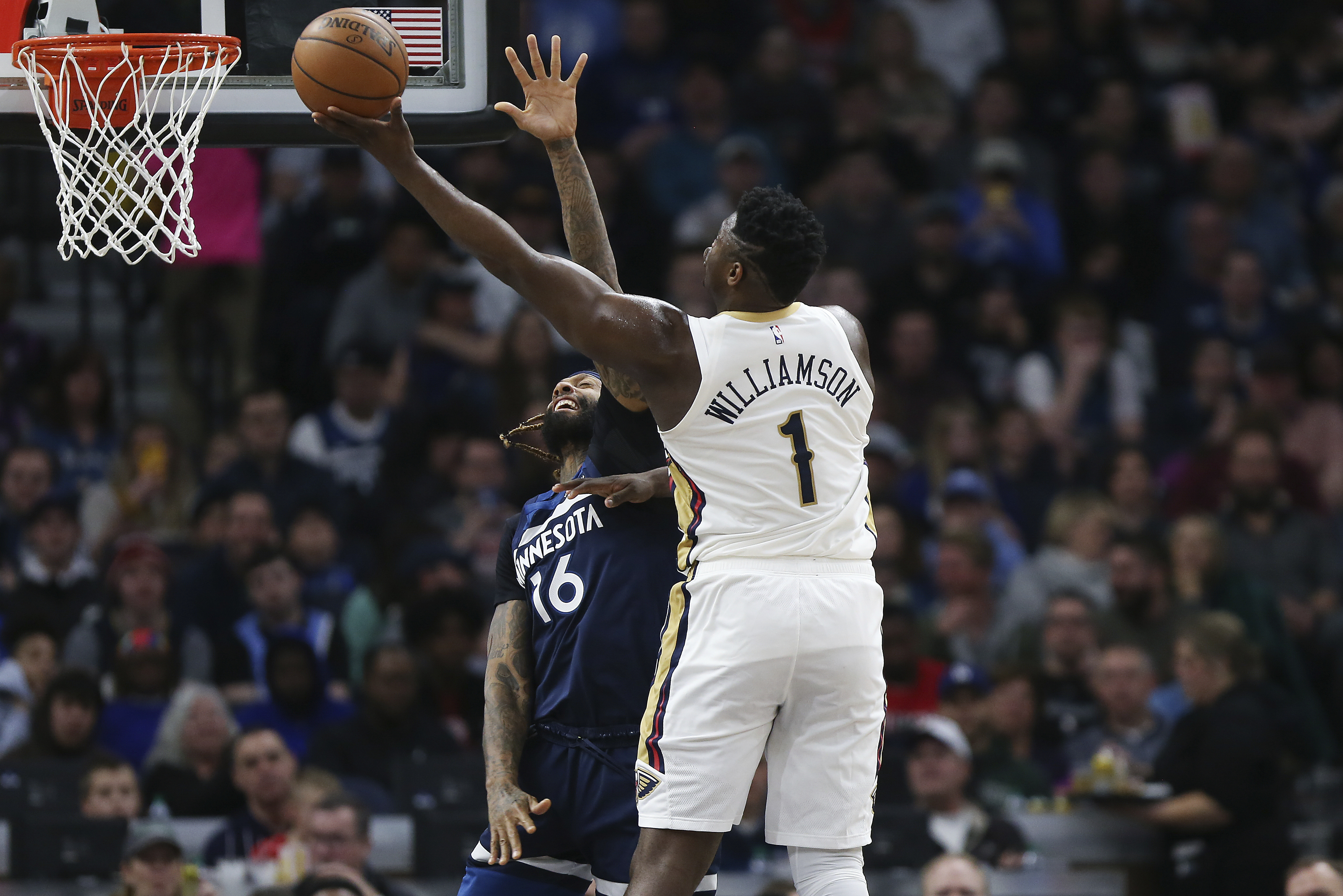 Holiday has 37 points help Pelicans top Timberwolves 120-107