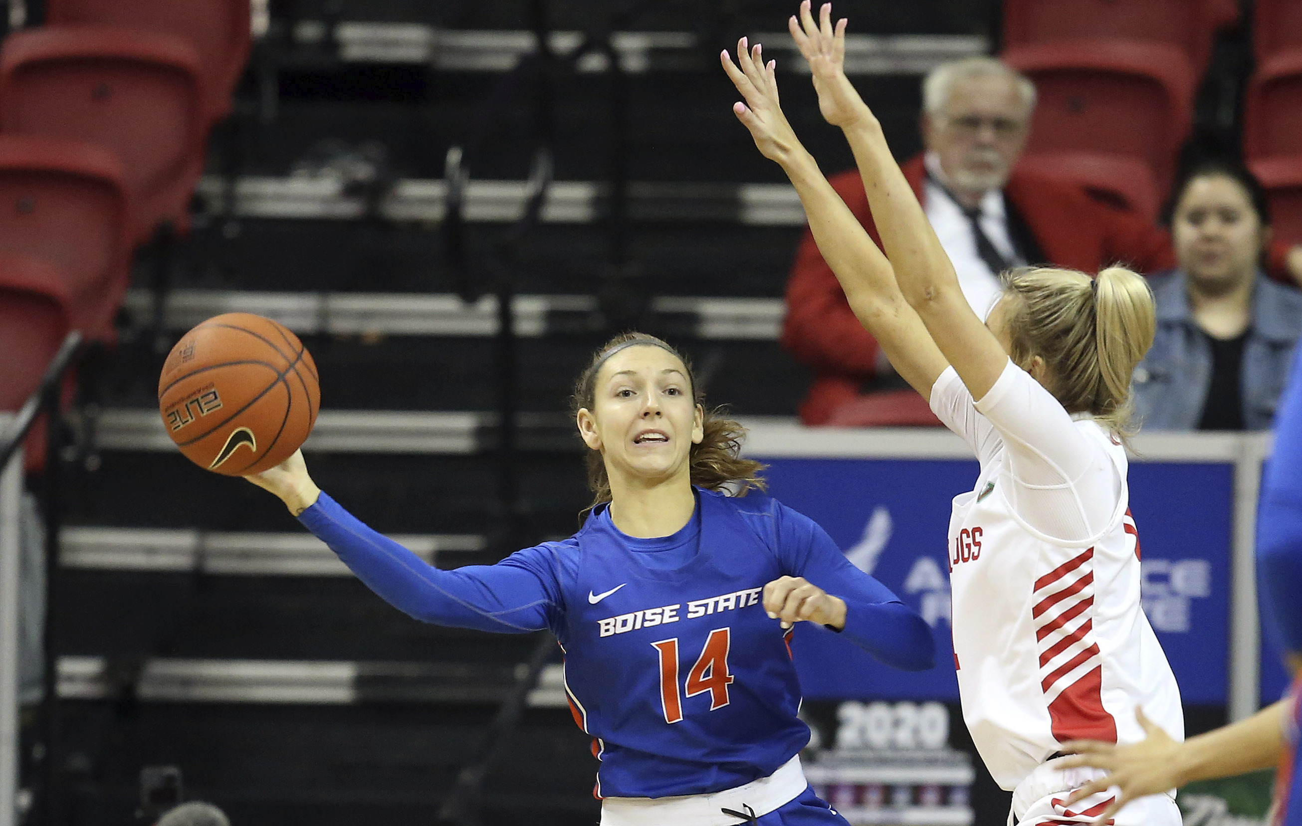 Boise St women top Fresno in OT for 4th straight NCAA trip