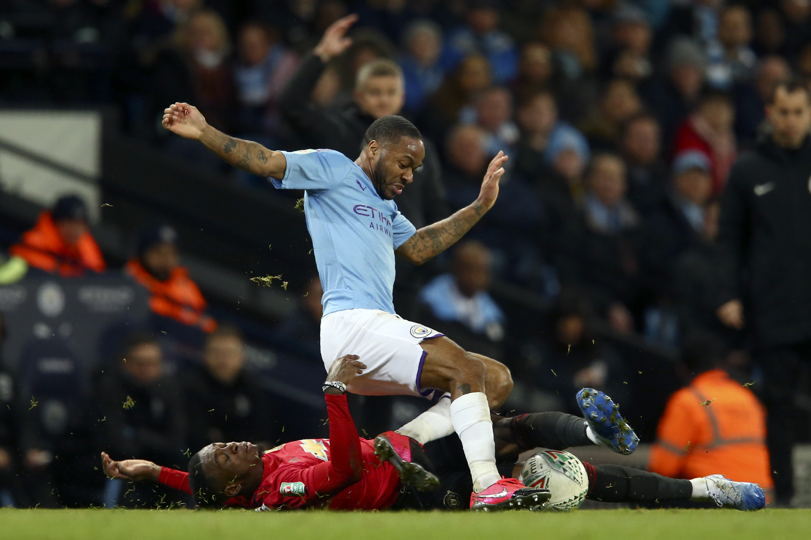 Injury takes struggling Sterling out of firing line