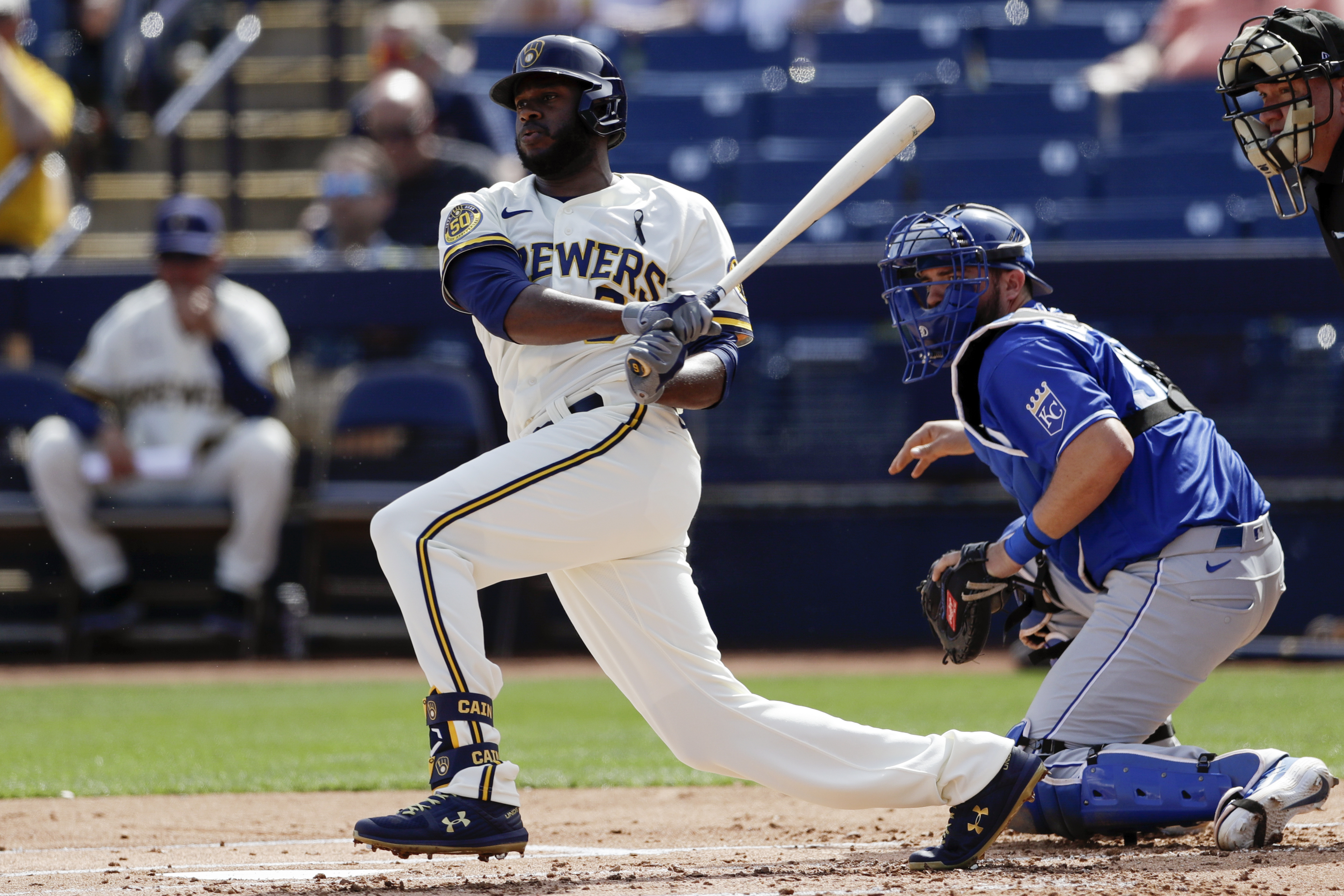 Healthier Lorenzo Cain ready to lead the way for Brewers