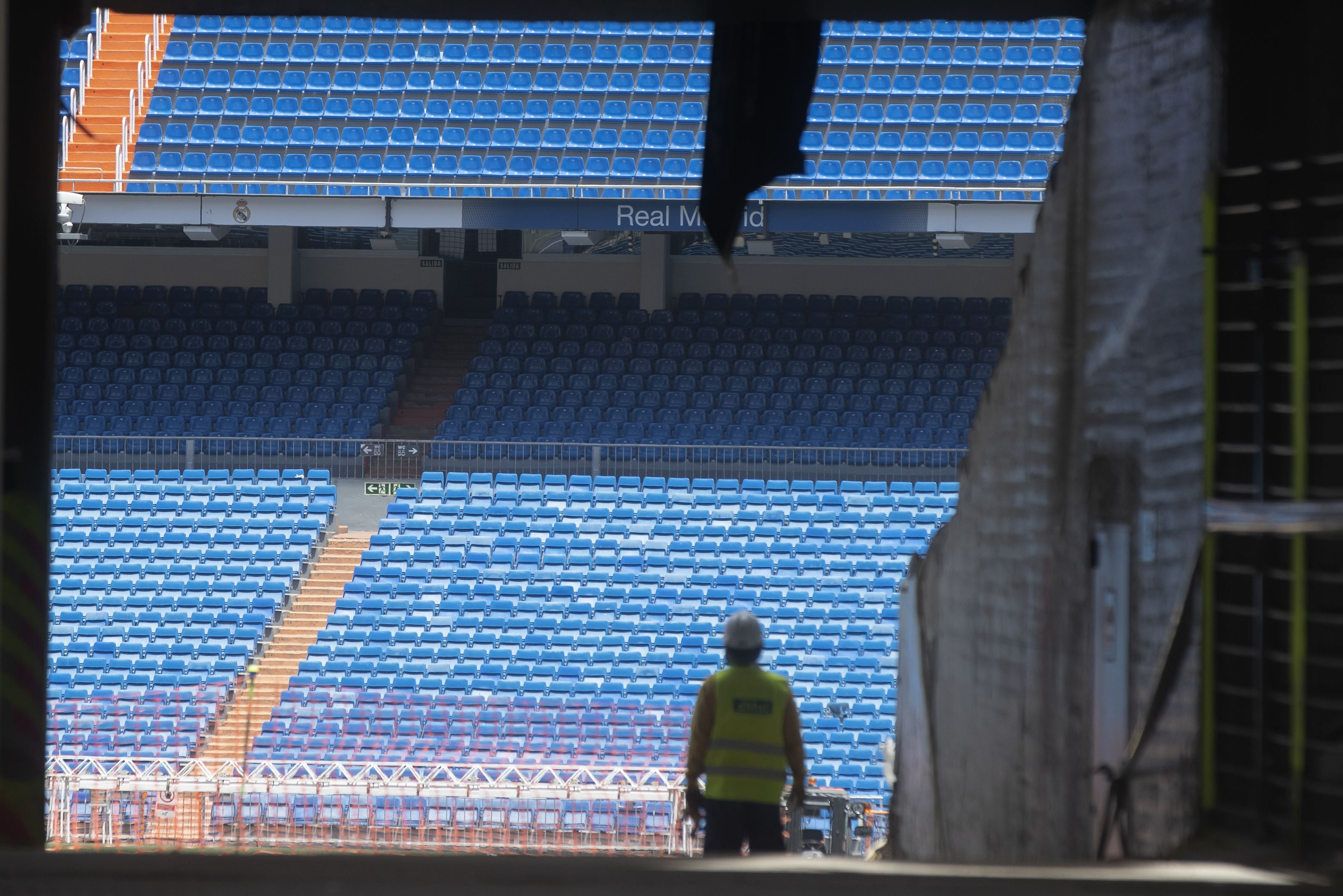 Spanish league not ruling out fans in stadiums this season