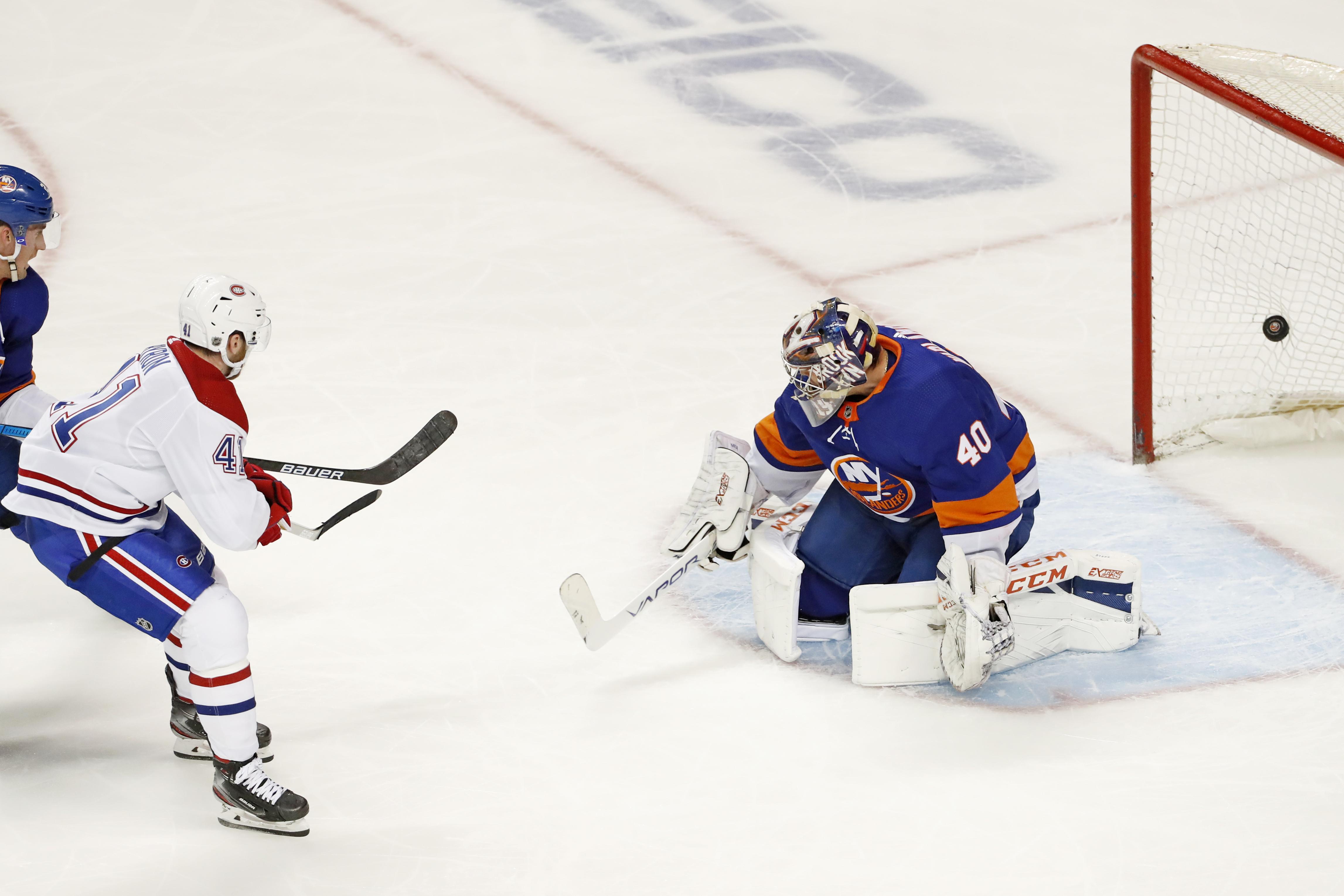 Gallagher helps Canadiens start fast, beat Islanders 6-2