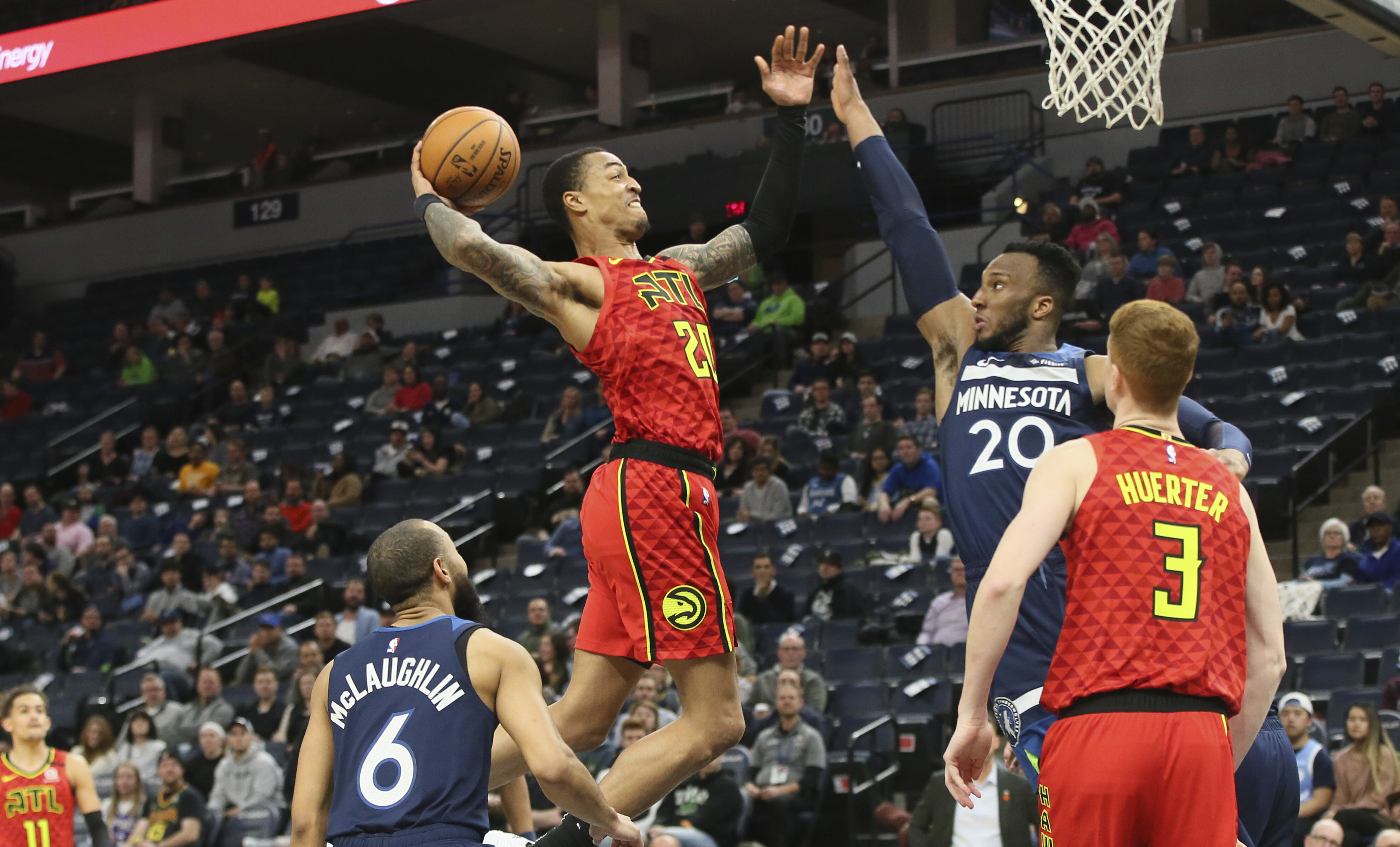 Hawks beat Wolves 127-120 as teams brace for roster shifts
