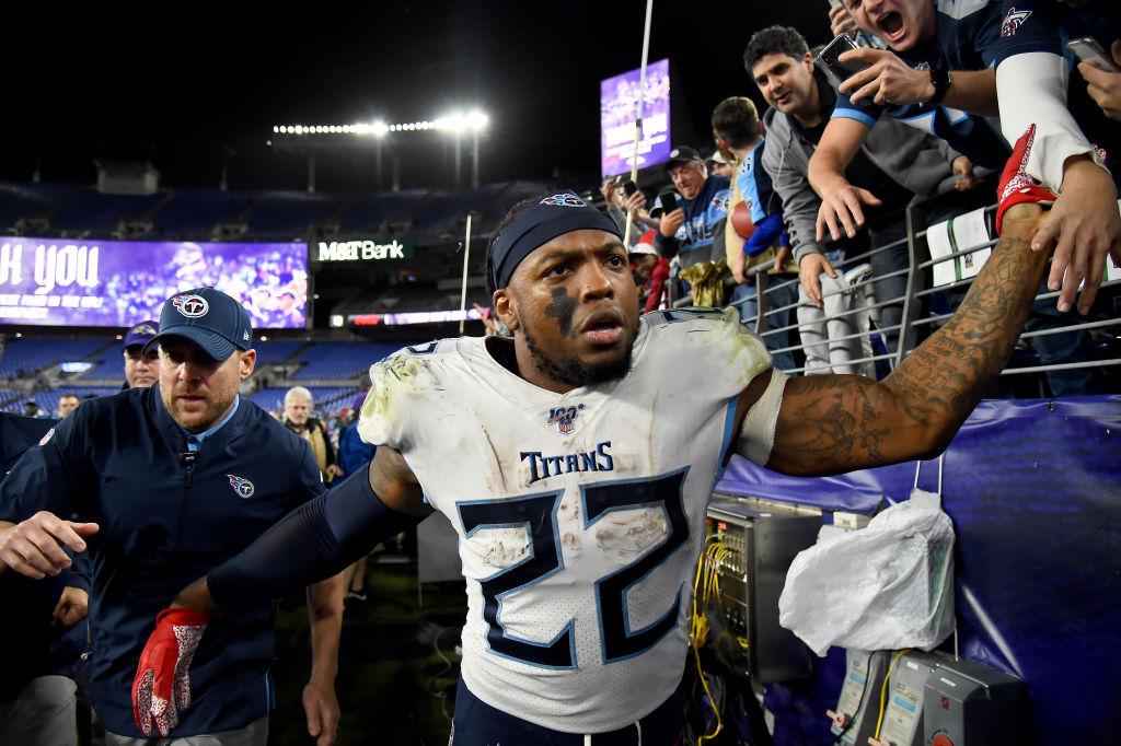 Titans Extend Rushing Champ Henry