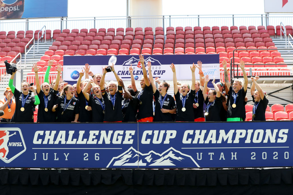 Houston Dash Win Challenge Cup