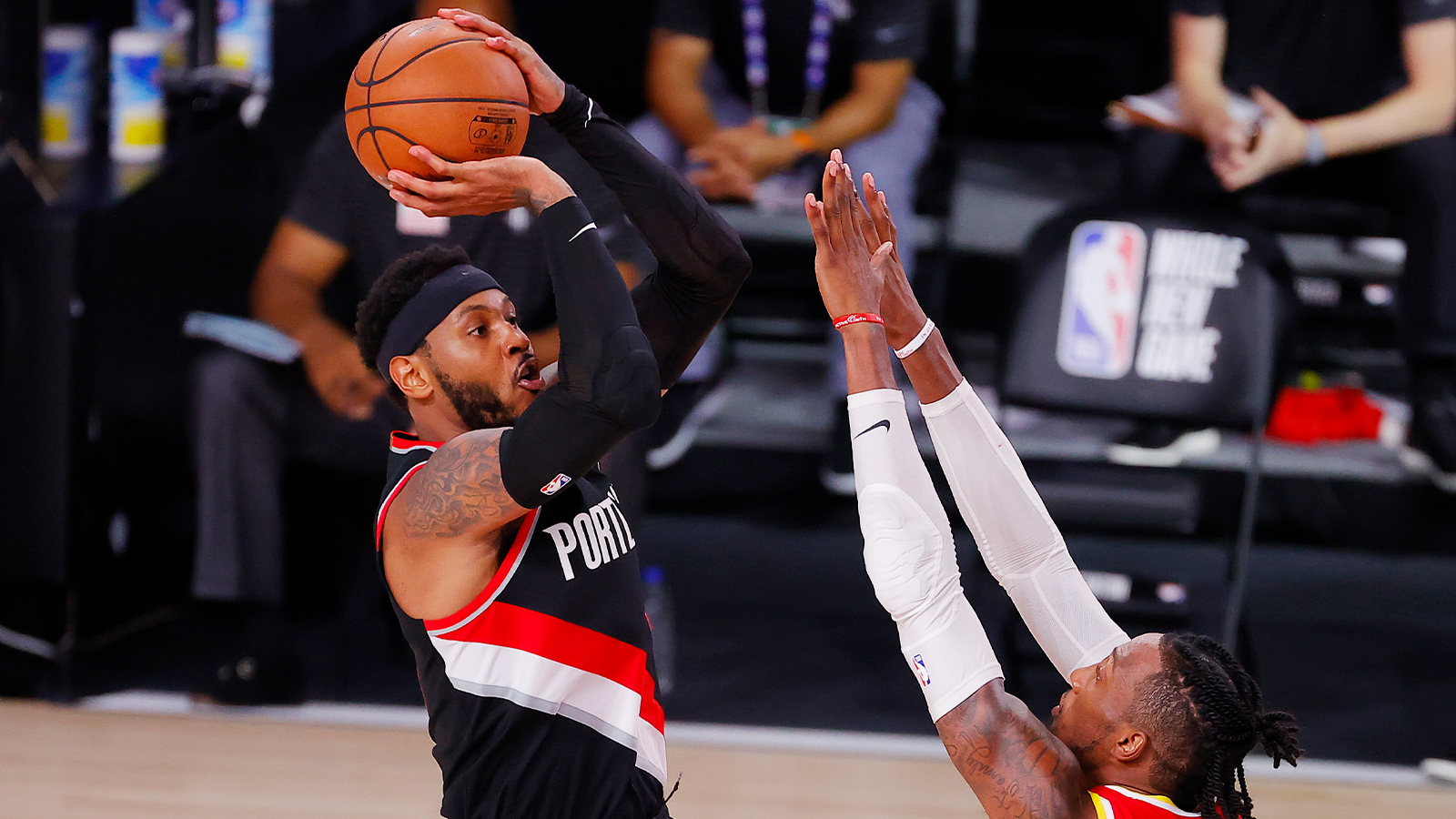 Melo Steals The Show For Portland