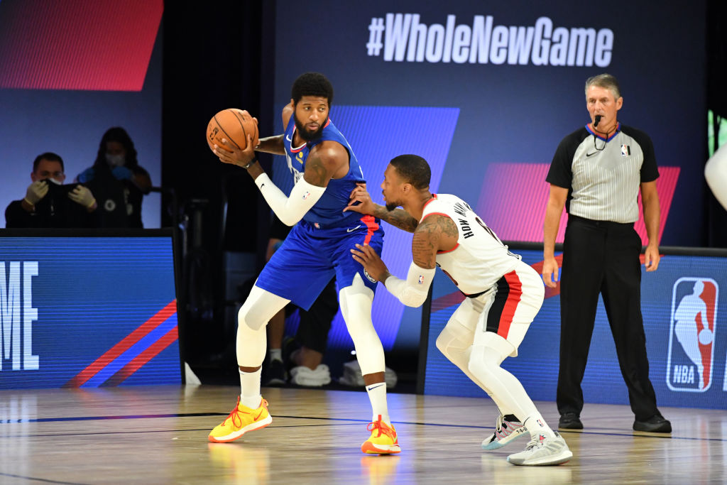 A Blazers-Clippers Brouhaha