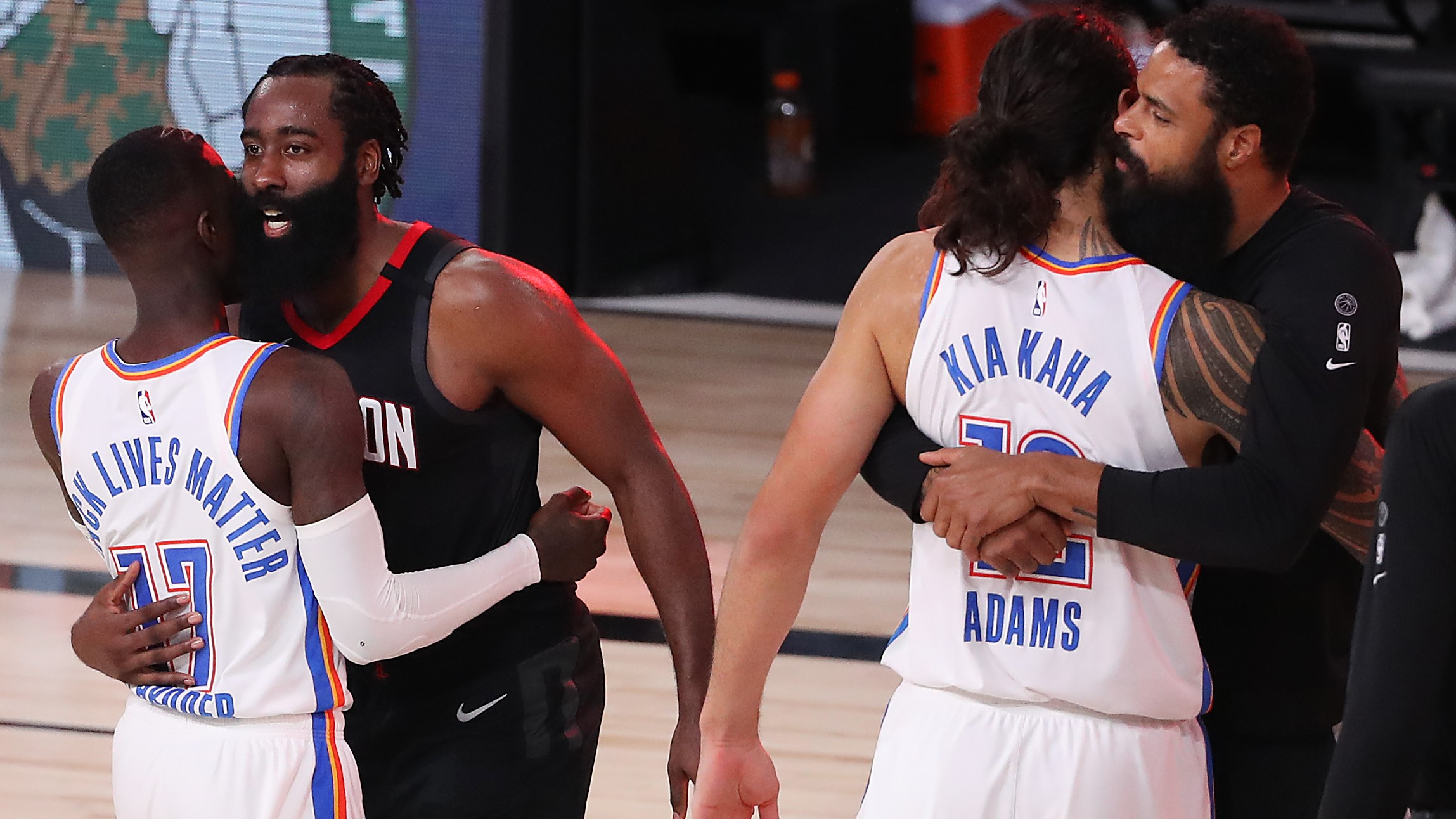 Harden Comes Up Clutch In Game 7