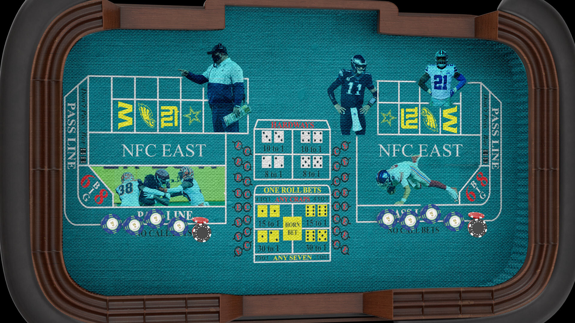 The NFC East's Pain Is Your Gain