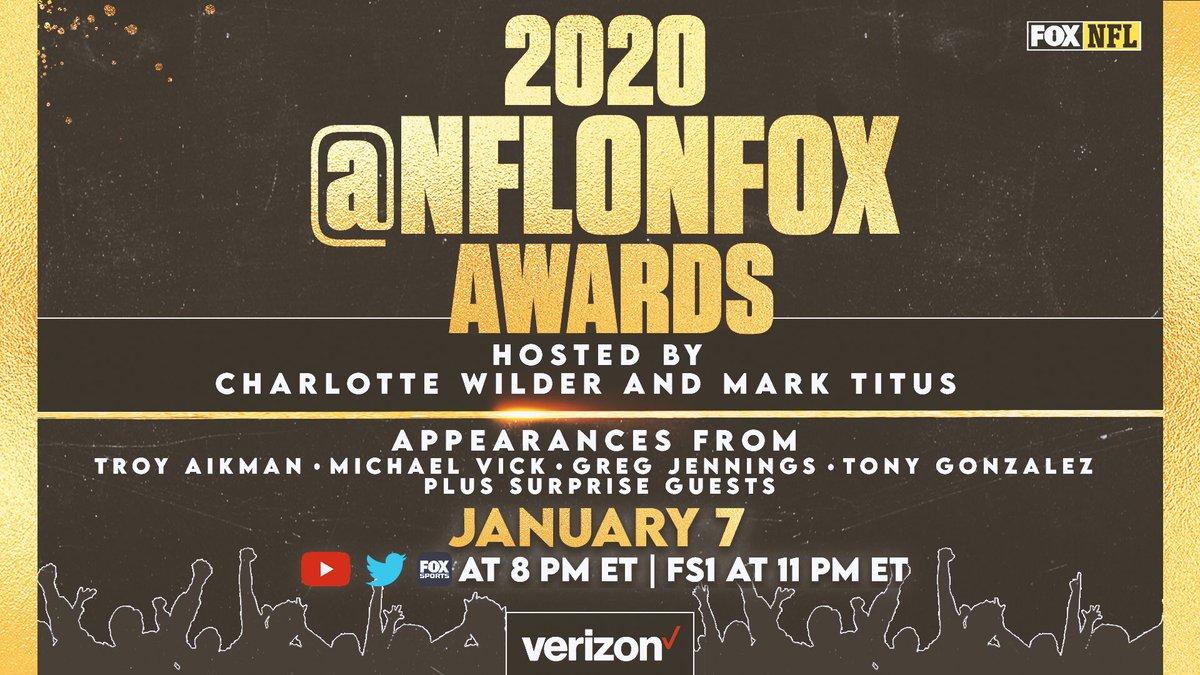 The 2020 NFL On FOX Awards