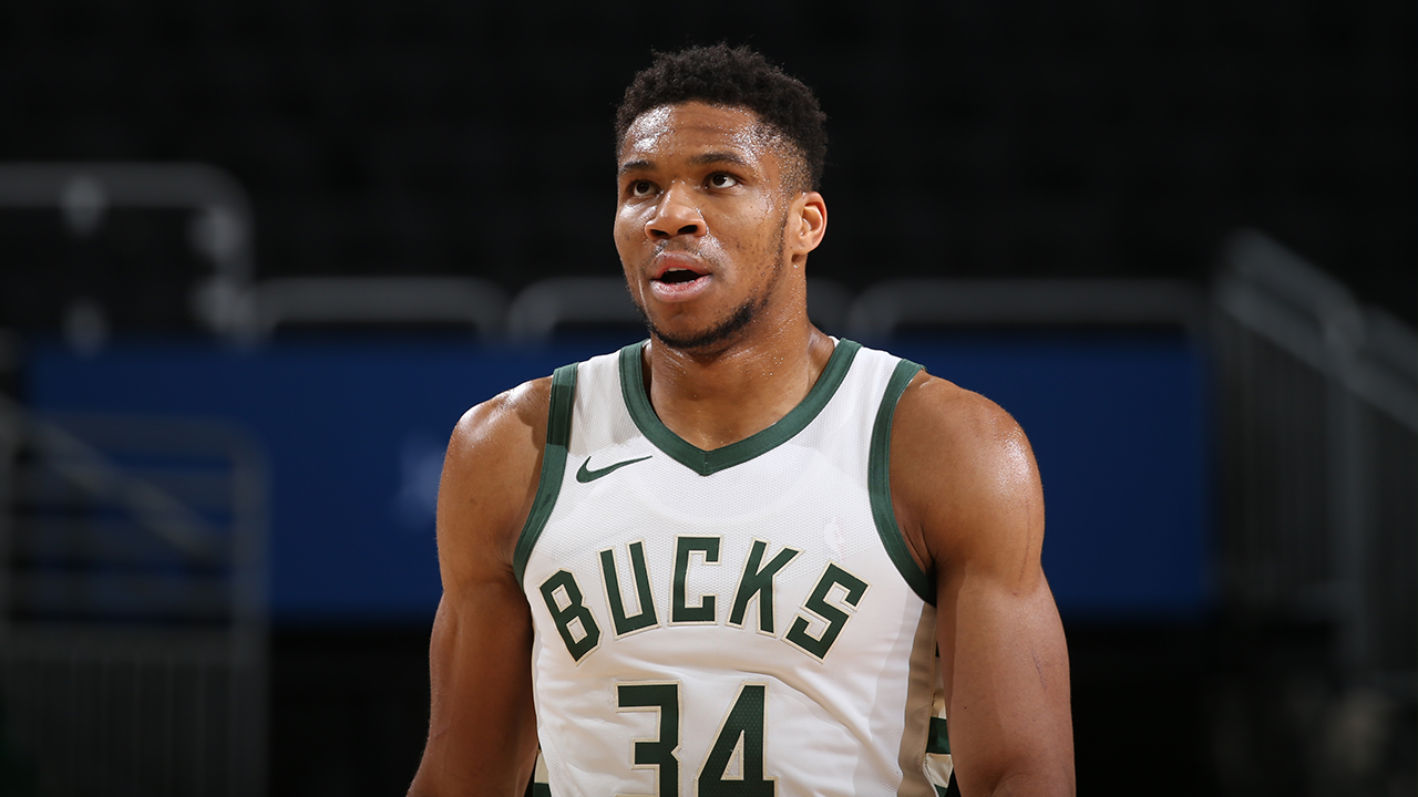 Giannis Antetokounmpo isn't panicking over Milwaukee's four-game losing streak