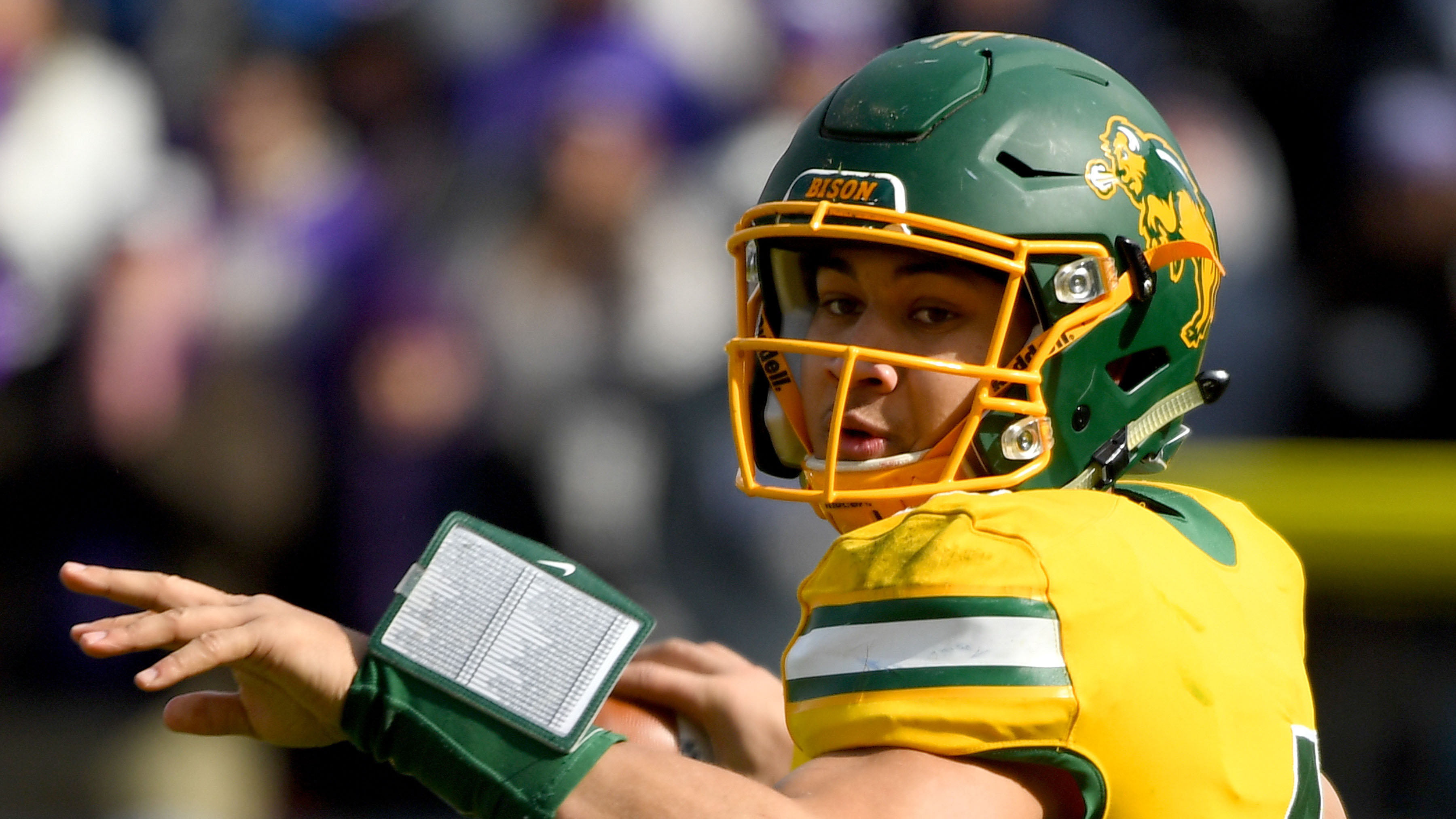 Quarterback Trey Lance puts on show for NFL scouts at North Dakota State