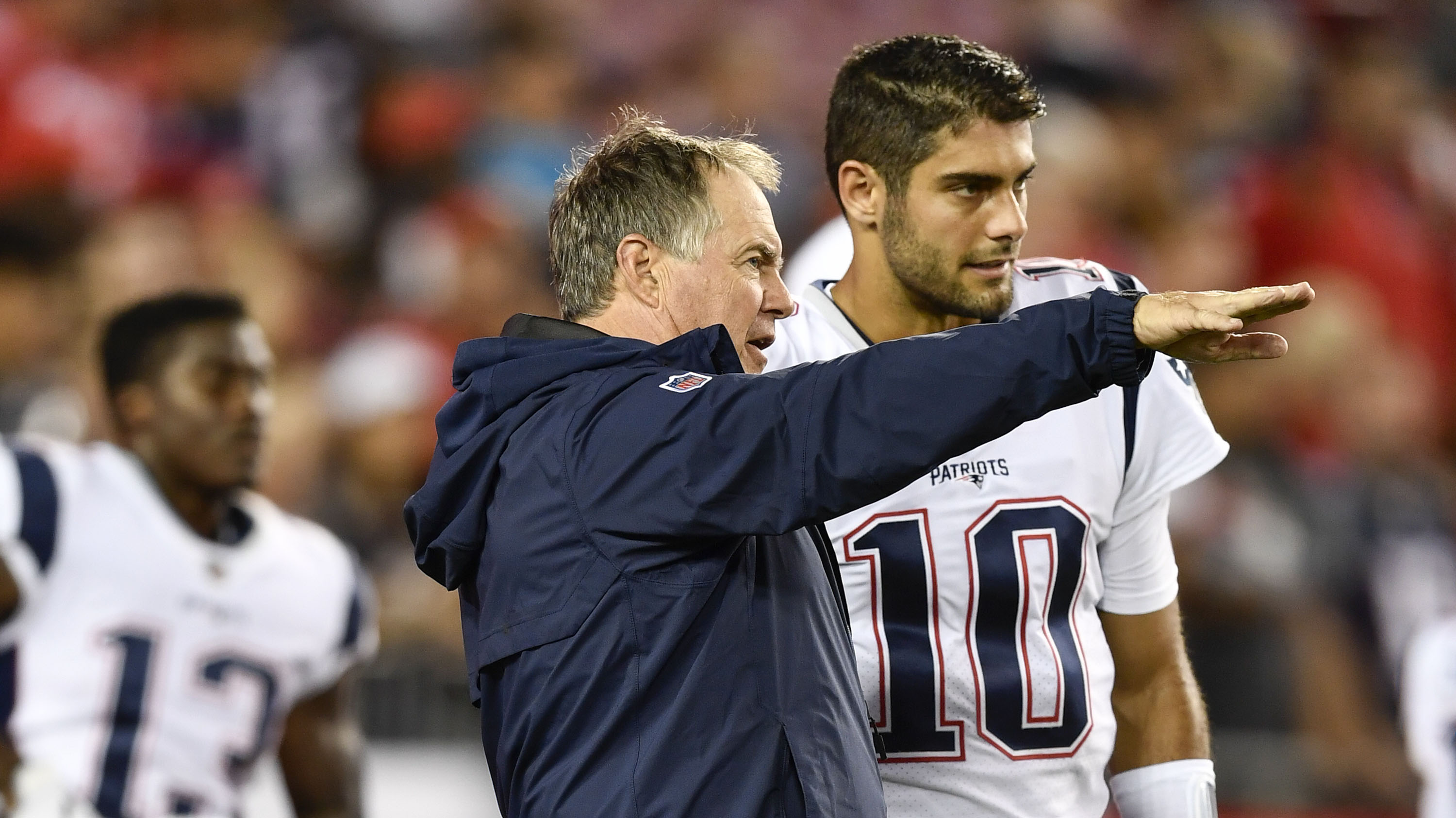 After shuffle in NFL draft, could Garoppolo be headed back to New England?