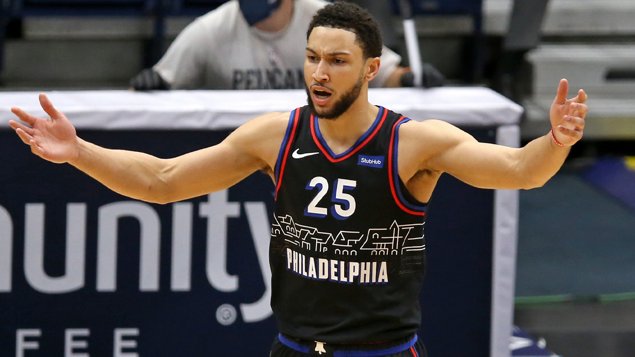 Ben Simmons spices up Philadelphia 76ers' marquee clash with Brooklyn Nets