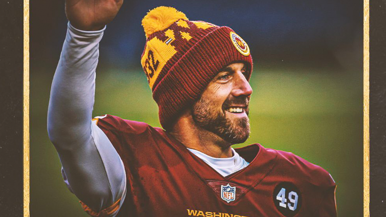 Alex Smith – the reigning Comeback Player of the Year –retires from NFL