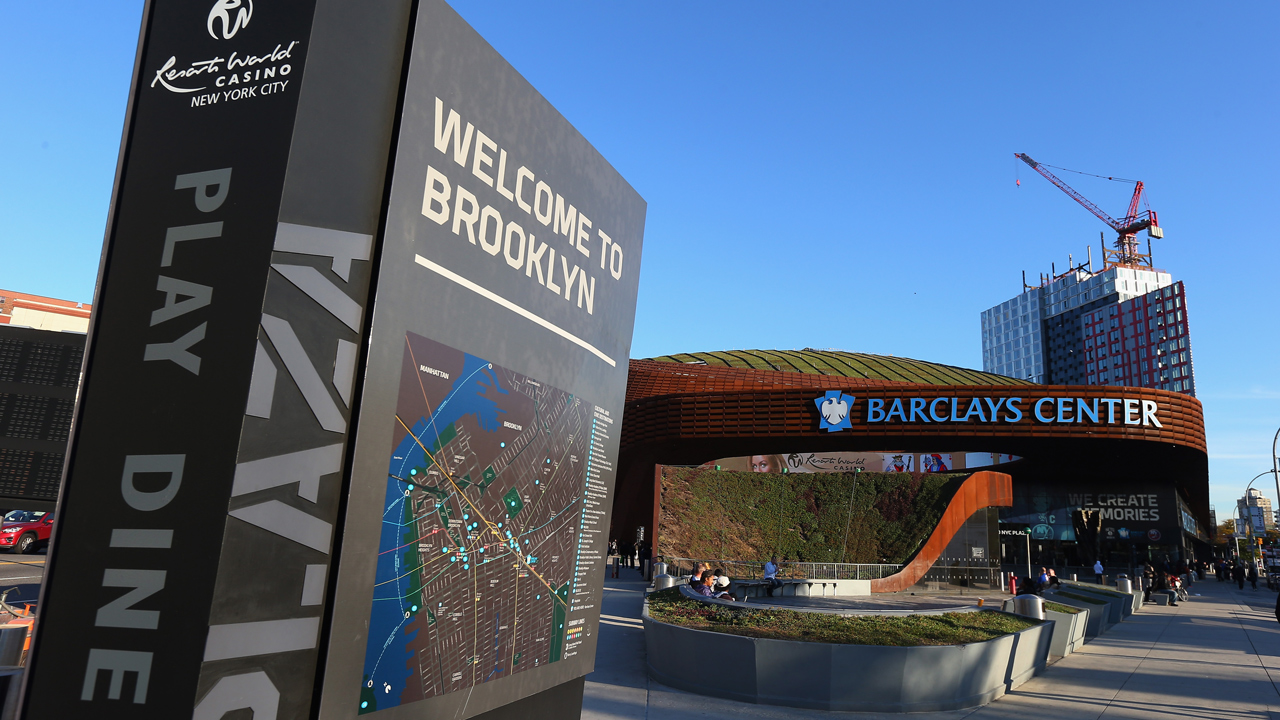 The Brooklyn Nets and their fans hope to conquer their city, then the league