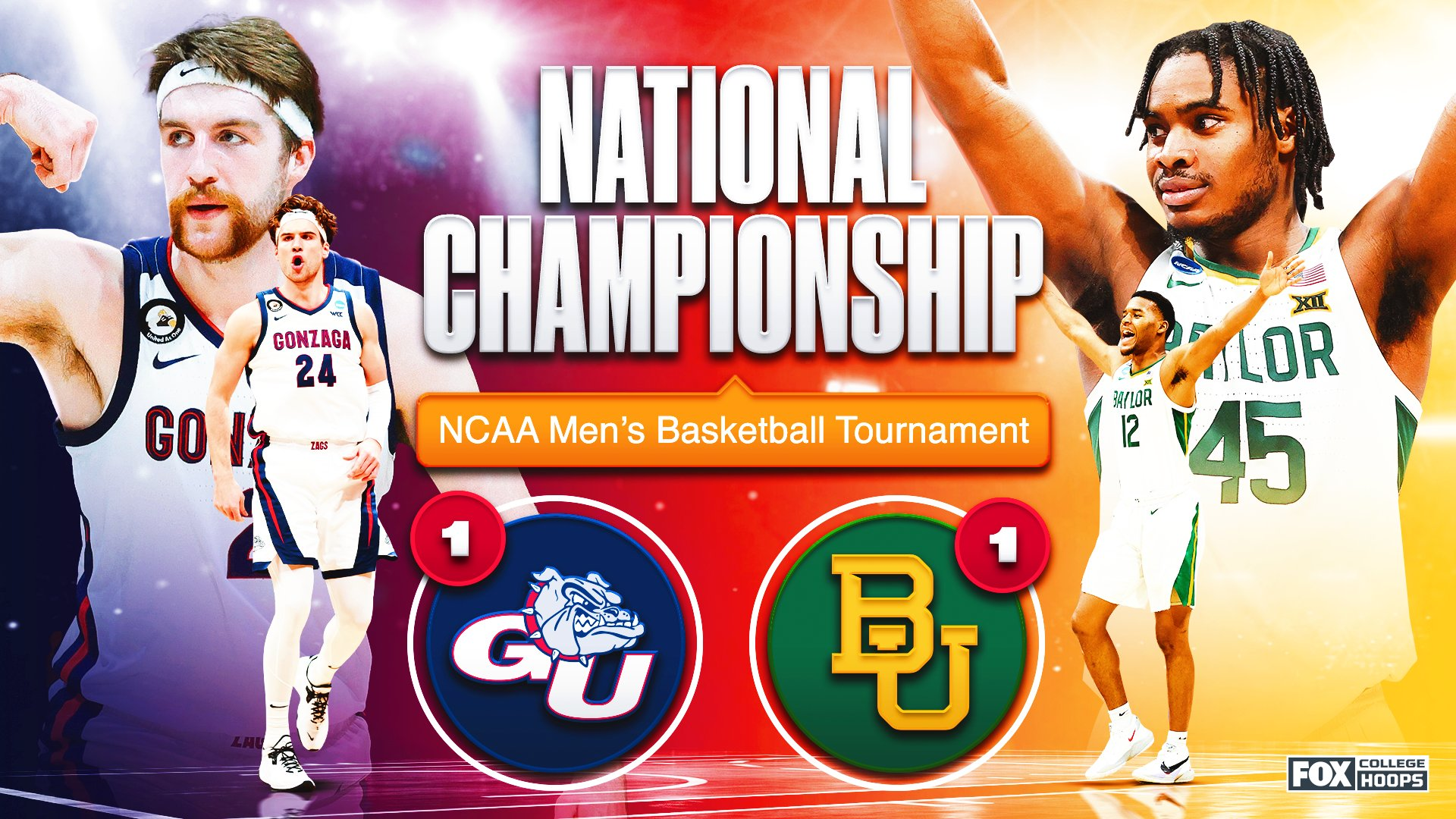 How to bet the national championship game between Baylor and Gonzaga