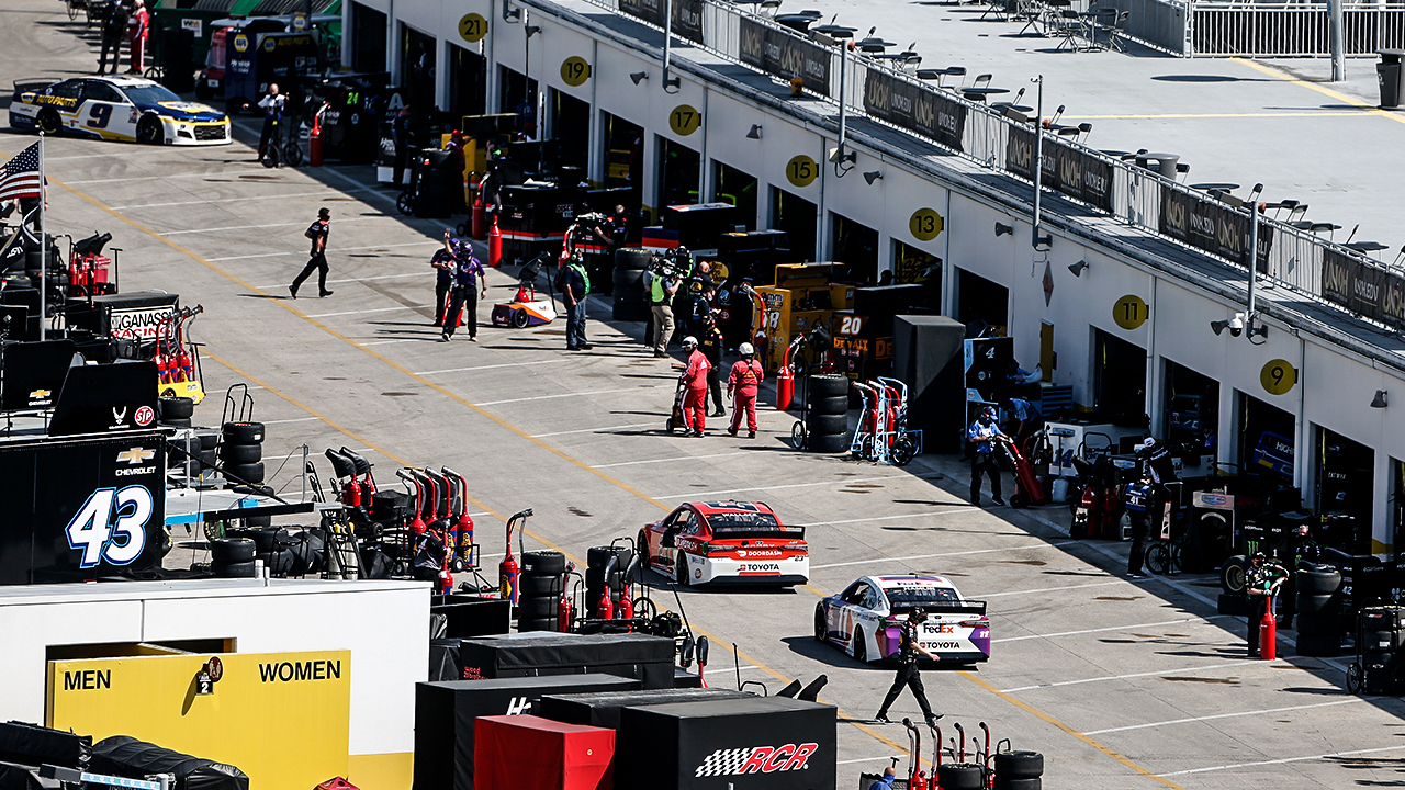NASCAR plans to welcome guests back into garages – as long as they're vaccinated