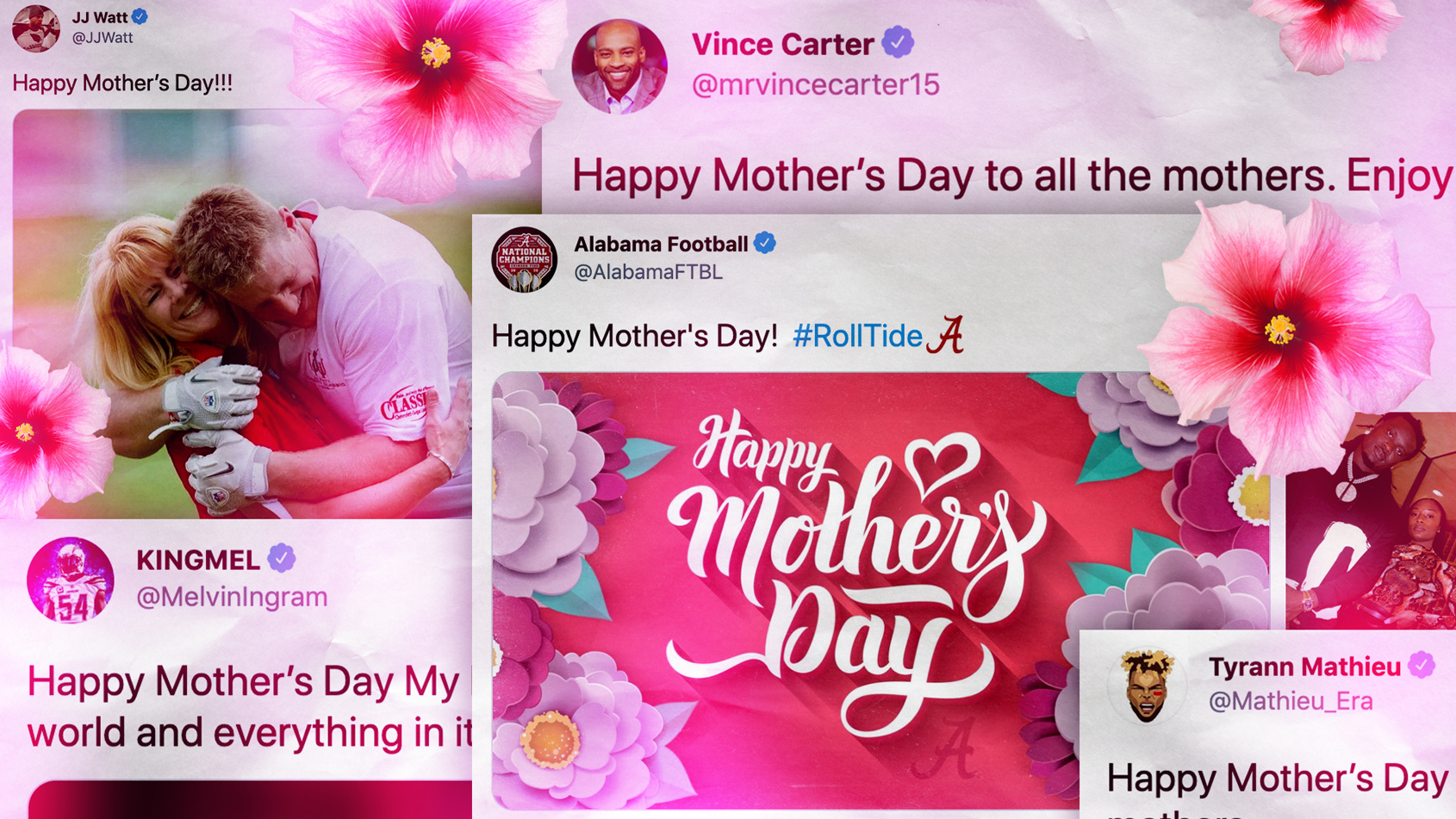Mother's Day 2021: Top tributes from around the sports world