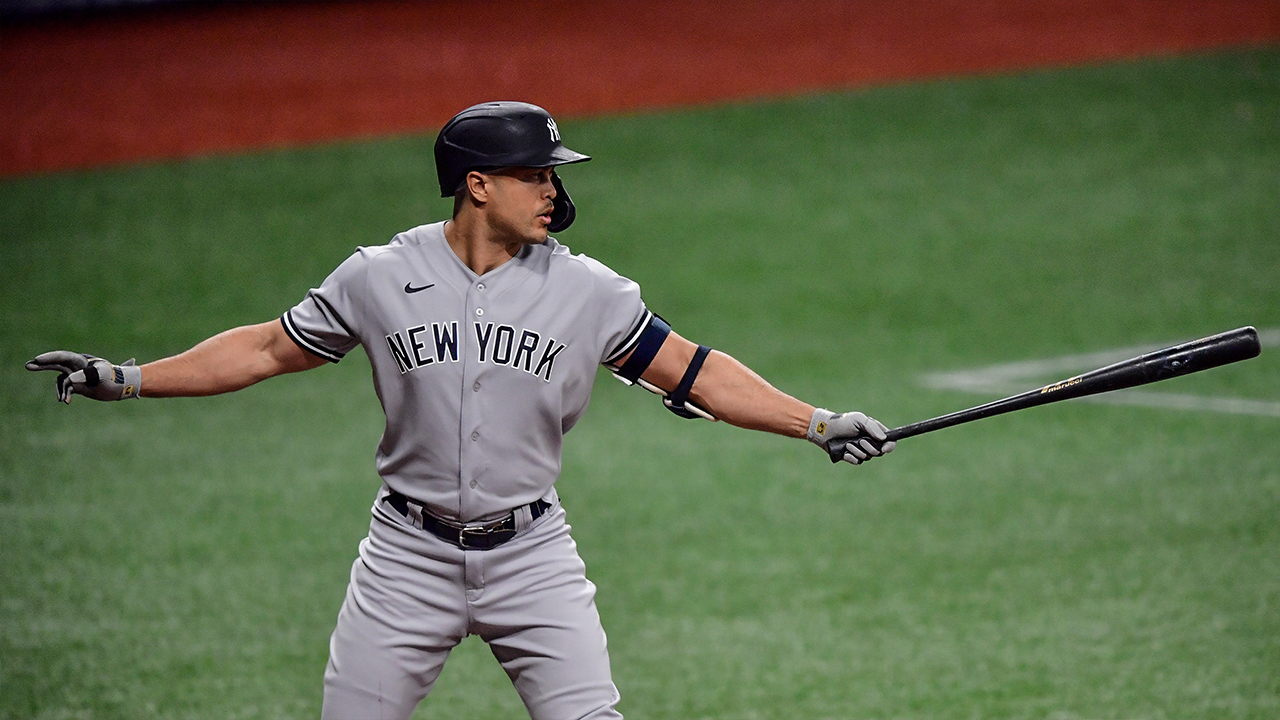 Giancarlo Stanton tops list of MLB players with the greatest raw power