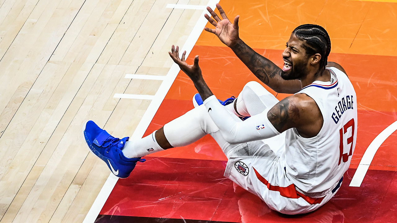 Paul George's playoff performance is once again a topic of discussion with Clippers down 0-2