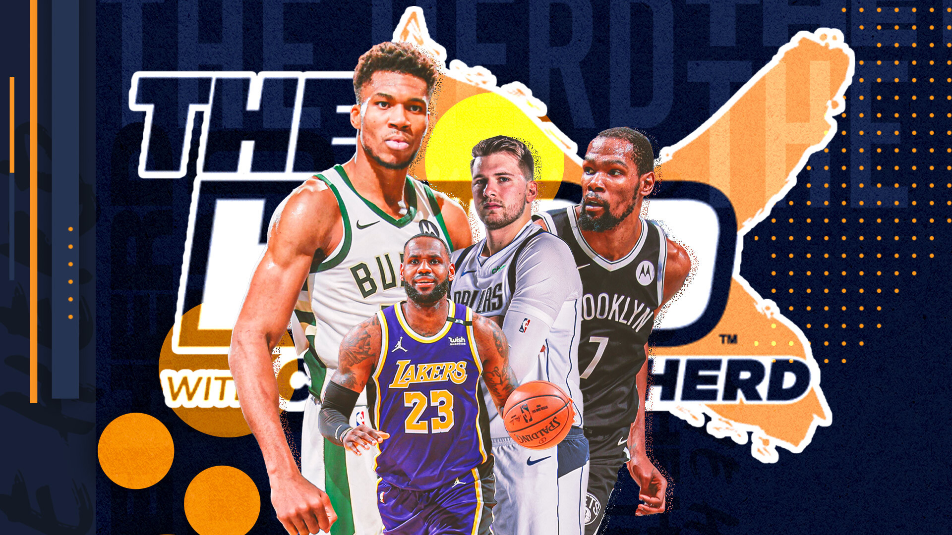 Colin Cowherd ranks his top 10 NBA players going into next season